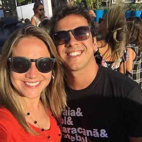 Fernanda Gentil e o marido, Matheus Braga (Foto: Instagram/ Reprodução)