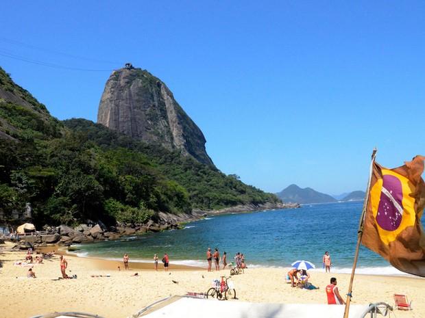 Praia Vermelha (Foto: Alexandre Macieira / Divulgação Riotur)