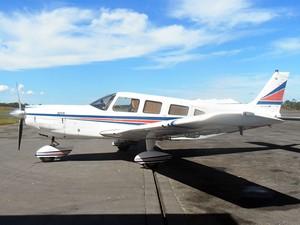 Avião roubado em Mato Grosso (Foto: Arquivo pessoal)