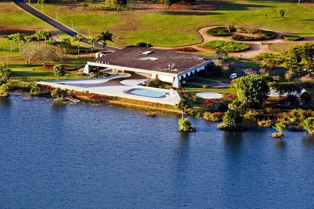 Palácio do Jaburu, residência de Michel Temer (Foto: Ichiro Guerra/ divulgação)