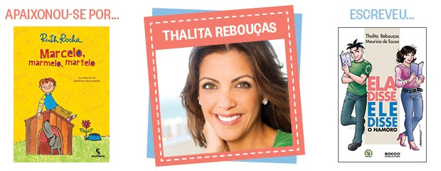 Thalita Rebouças (Foto: Reprodução e Divulgação)