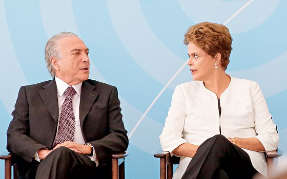 Michel Temer e Dilma Rousseff (Foto: Pedro Ladeira/Folhapress)