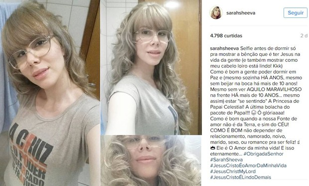 Sara Sheeva (Foto: Instagram / Reprodução)
