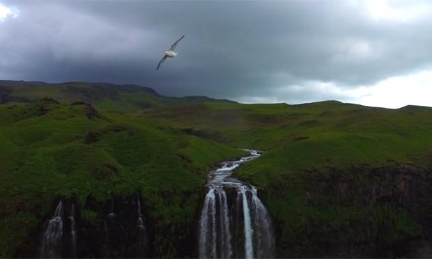 Drone viaja pela Islândia e registra belezas naturais do país em vídeo