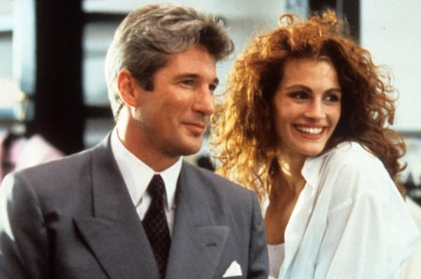 Richard Gere e Julia Robert em 'Uma Linda Mulher' (1990) (Foto: Reprodução)