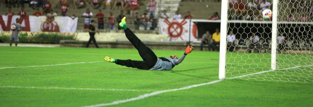 Veja o gol da vitória do CRB  sobre o CSE por 1 a 0 (Ailton Cruz/Gazeta de Alagoas)