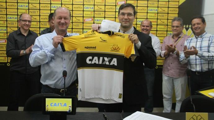Criciúma Caixa (Foto: Fernando Ribeiro/Criciúma EC)
