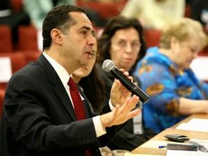 O advogado Luís Roberto Barroso, em audiência no STF, em 2008. Foto: Paula Sima () (Foto: Paula Sima/STF)