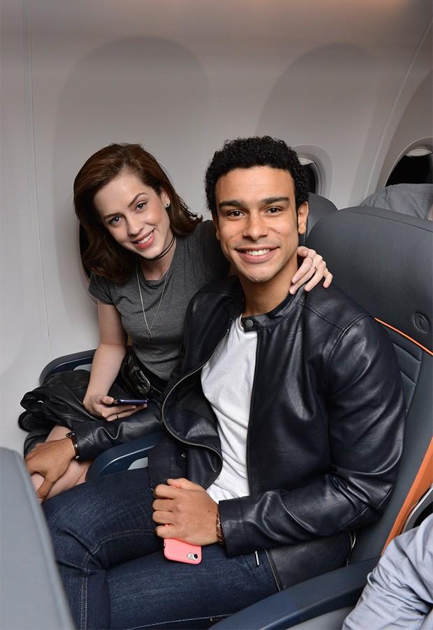 Sophia Abrahão e Sergio Malheiros (Foto: João Sal/Divulgação)