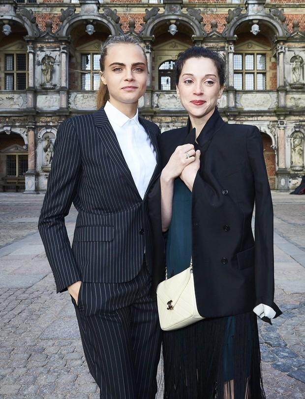 Cara Delavingne e St. Vincent (Foto: Getty Images)