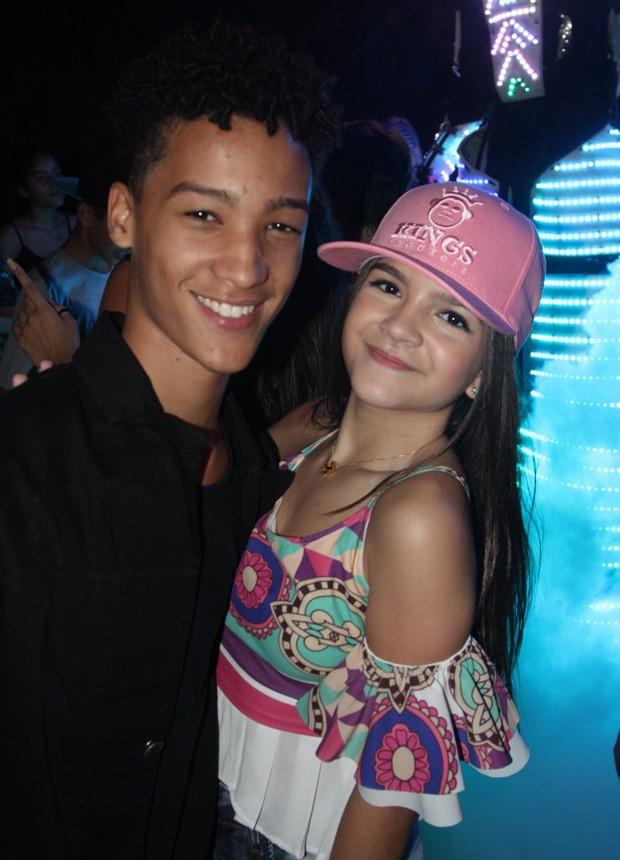 Mel Maia e Nicolas Paixão (Foto: AGnews)