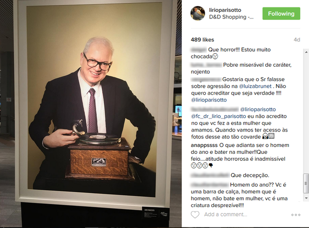 Postagens no Instagram de Lirio Parisotto (Foto: Reprodução/Instagram)