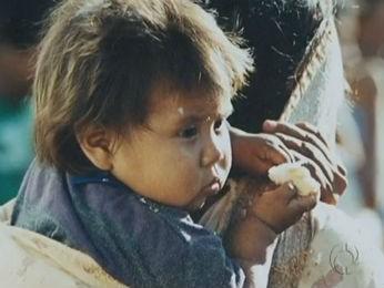 Exposição reúne objetos produzidos por povos indígenas em Guarapuava (Foto: Reprodução / RPC TV)