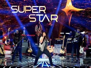 Banda alagoano durante apresentação do SuperStar  (Foto: Reprodução/ Rede Globo)