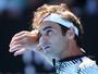 Com saque afiado, Federer passa por jovem americano e encara Berdych