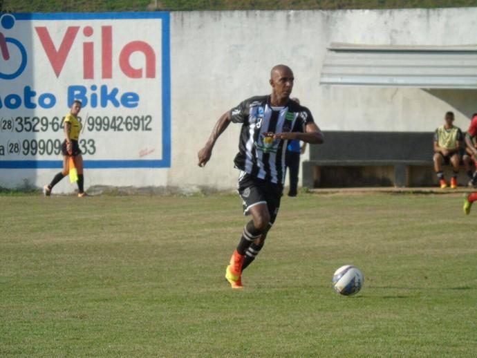 Waldir teve uma chance entre os titulares do Atlético-ES (Foto: Karen Porto/Atlético-ES)