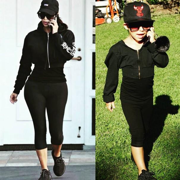 Kim Kardashian X Sofia: quem vestiu melhor?!  (Foto: Reprodução/ Instagram)