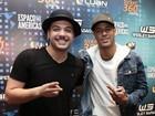 Neymar curte show de Wesley Safadão em São Paulo