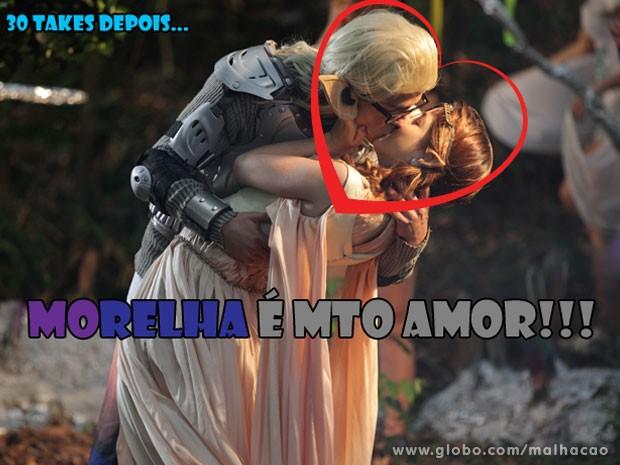 AAAAAAAAAAAAAAAAWWWWWWWWWWWWWNNNNNN! MoRelha é mto amor, glr! (Foto: Malhação / Tv Globo)