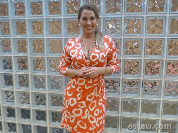 Andréia Sorvetão (Foto: Pé na Cova/ TV Globo)