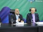 Ministro do Esporte se reúne com autoridades em Porto Velho