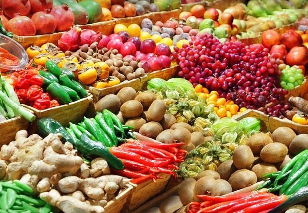 Alimentos ; agronegócio ; produção de vegetais ; safra ;  (Foto: Divulgação)