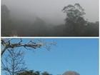 Friburgo começa o dia com neblina e frio de 7ºC, e céu abre horas depois