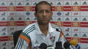 Pierre entrevista Fluminense (Foto: Pedro Veríssimo)