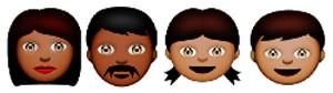 'Emojis' que petição on-line pediu à Apple para incluir a fim de aumentar a diversidade. (Foto: Reprodução/dosomething.org)