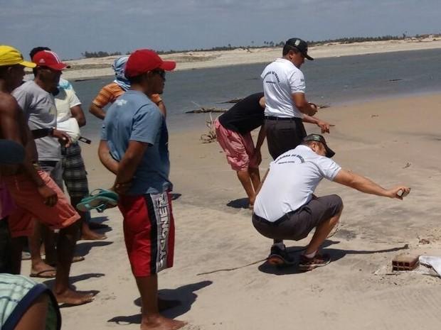 Capitania dos Portos investiga se corpo é de pescador desaparecido no Rio Grande do Norte (Foto: Arquivo Pessoal)