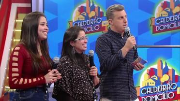 Família de Mogi das Cruzes participa do 'Caldeirão em Domicílio'