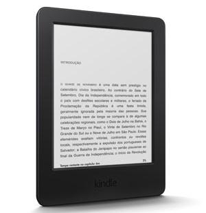 Kindle com tela sensível ao toque começa a ser vendido nesta quinta (13) no Brasil (Foto: Divulgação/Amazon)