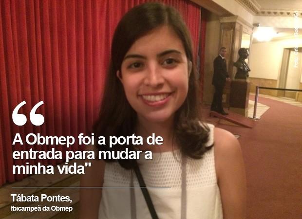 Tábata Pontes, de 21 anos, está no terceiro ano de estudos em Harvard. (Foto: Cristina Boeckel/ G1)
