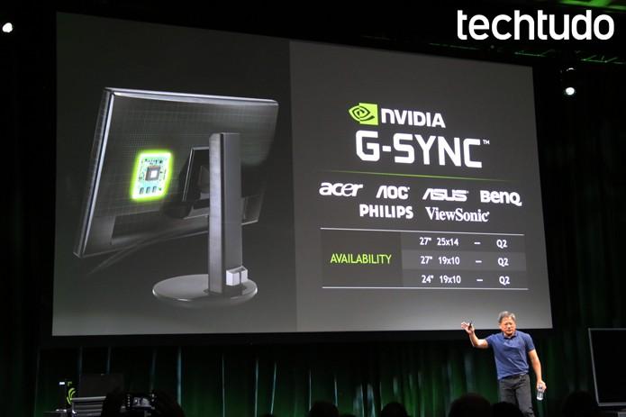 G-Sync promete resolver a vida dos profissionais dos games (Foto: Fabrício Vitorino/TechTudo)