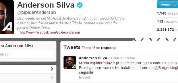 Anderson Silva (Foto: Reprodução / Internet)