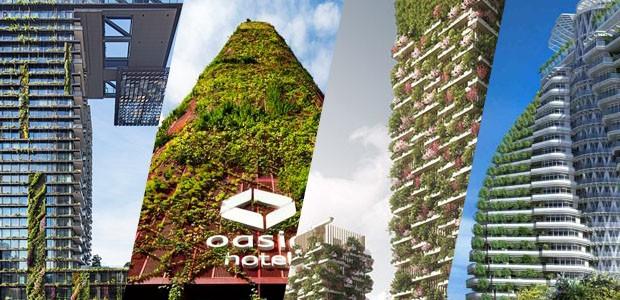7 construções com jardim em evidência (Foto: Divulgação)