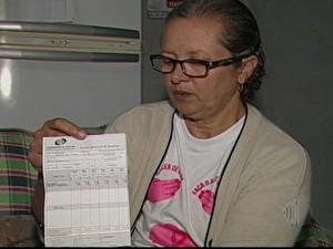 Marisa Ferreira dos Santos Sarto tenta se aposentar há dez anos (Foto: Reprodução)
