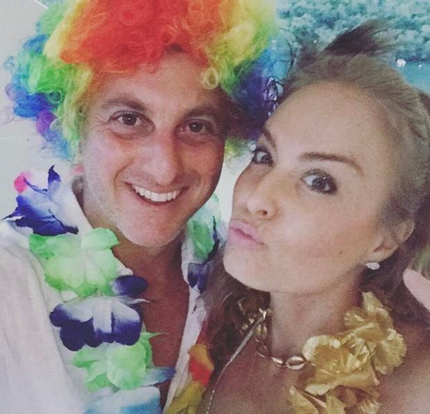 Luciano Huck e Angélica (Foto: Instagram / Reprodução)