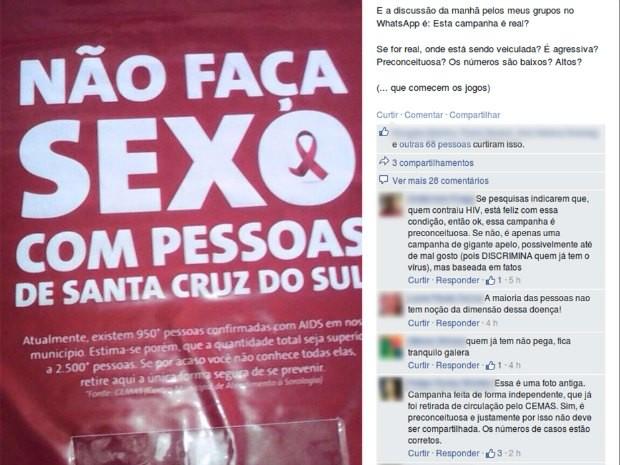 Campanha interna foi idealizada pela CIPA da Mercur  (Foto: Reprodução/Facebook)