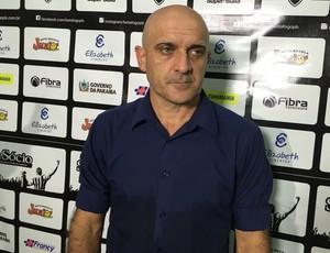 Itamar Schulle, treinador do Botafogo-PB,  Schulle, Schülle, (Foto: Lucas Barros / GloboEsporte.com/pb)