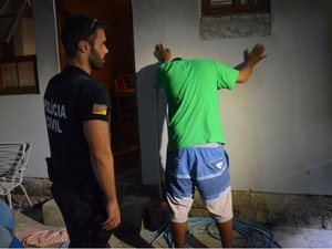 Operação prendeu sispeitos de roubo de veículos (Foto: Divulgação/Polícia Civil)