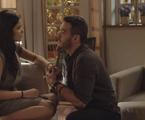 Vanessa Giácomo e Marcos Veras em cena de 'Pega pega' | Reprodução