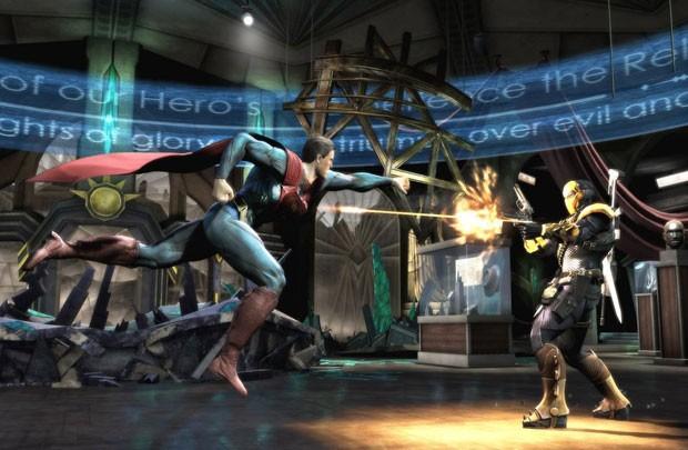 g1 jogo de luta injustice com heróis da dc terá dublagem em