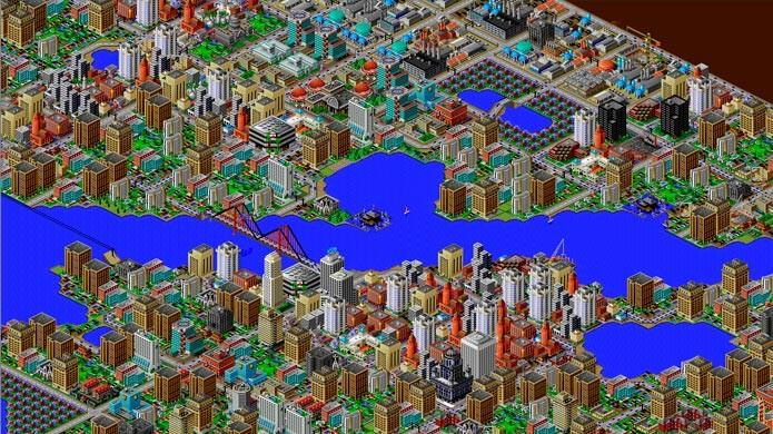 SimCity 2000 ganhou versões para PC e consoles (Foto: Divulgação)
