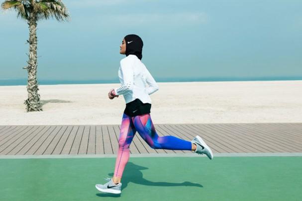 Linha hijab da Nike (Foto: Divulgação)