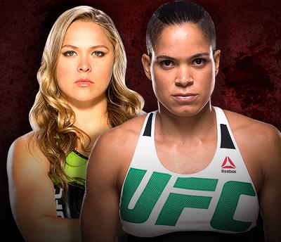 Carrossel Amanda nunes X Ronda Rousey UFC (Foto: Editoria de arte)