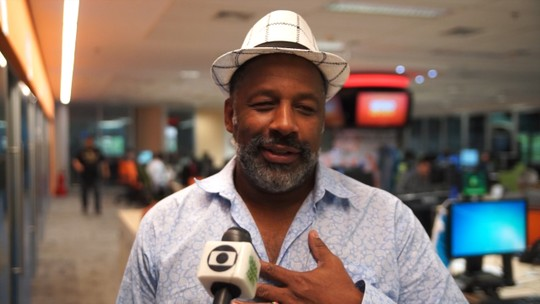 Aílton Graça empresta voz para Tyson em reportagem do Esporte Espetacular