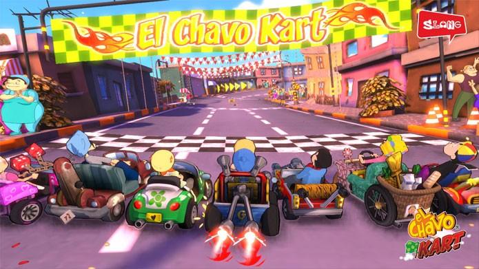 Chaves Kart ganha adaptação nos dispositivos Android (Foto: Divulgação)