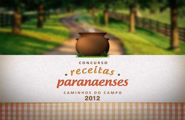 Concurso de Receitas Paranaenses Caminhos do Campo (Foto: Divulgação/RPC TV)