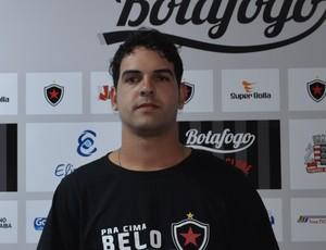 Goleiro do Botafogo-PB, Edson (Foto: Hévilla Wanderley / GloboEsporte.com/pb)